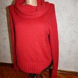 свитер стильный модный с горлом-хомутом р14