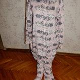 слип, пижама, человечек, кигурими с капюшоном р12