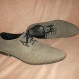 Кожаные туфли Mida