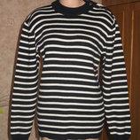 теплый свитер 50% шерсть мериноса Турция