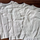 Детская футболочка белая Mothercare для девочек