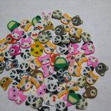 3Д фигурки для рукоделия, заколок, декора, маникюра, скрапбукинга, подделок зверюшки