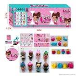 Кукла LOL 18566 Секретные послания, Сестрички , 3шт в коробке