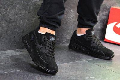 Кроссовки мужские замш Nike Air Max black