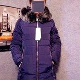 Зимнее пальто на холофайбере Очень теплое и легкое