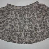 Очаровательная юбочка ф.F&F для девочки 5/6лет в отличном состоянии