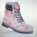 Эксклюзивные высококачественные зимние ботиночки полностью натуральные