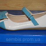 Туфли на девочку, Венгерские Туфельки Super Gear Кожанная стелька
