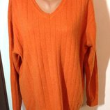 100% кашемир Шикарный мужской теплый свитер полувер westbury р.xl. Можно и больше.