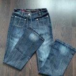 10 лет Модные фирменные джинсы колокола