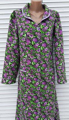 Теплый халат из фланели 60 размер