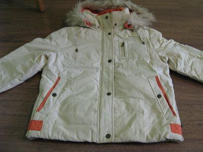 Зимний молодёжный пуховик Snow Owl 18a100 цвета пудра с красивой ... | 300x400