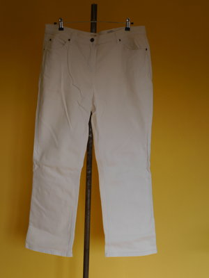 Брюки-Штани білі котонові на 20 євро розмір John Banеr