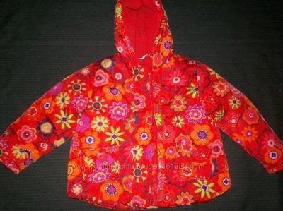 Яркая куртка George 2-3г