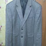 100% высококачественная шерсть Шикарный брэндовый мужской пиджак Gilberto р.XXL