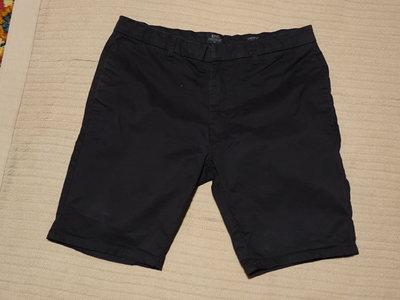 Узкие стрейчевые шорты черного цвета Authentic casual wear 85 34 р.