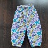 9-11 лет Удобные фирменные хлопковые пижамные домашние шорты капри