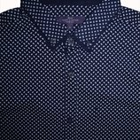 Мужская рубашка в узорчик безрукавка George XL