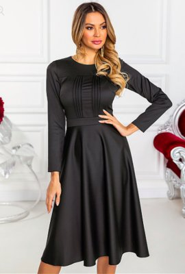 Красота с комфортом Трикотажное платье G-262 от Natali vmode