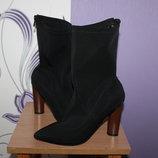 ботинки ботильоны полусапожки чулки Ego с красивым каблуком