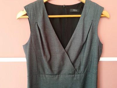 Платье офисный стиль, стрейчевое
