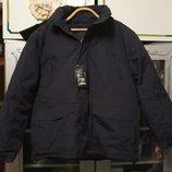 Куртка мужская зимняя теплая с капюшоном