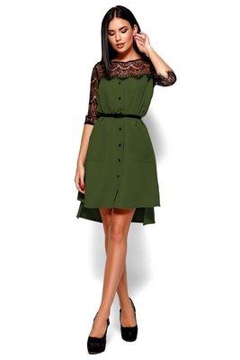 Платье Айлин в хаки цвете S-L