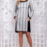Платье 2 цвета 44,46,48,50 размеры