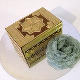 Сувенир- деревянная шкатулка ,народный промысел.