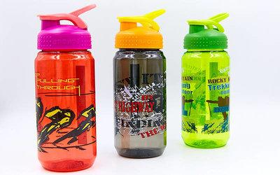 Бутылка для воды спортивная Sport 1821 3 цвета, объем 500мл