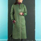 Куртка-Пальто на молнии деми, Размер 42-44, 44-46.