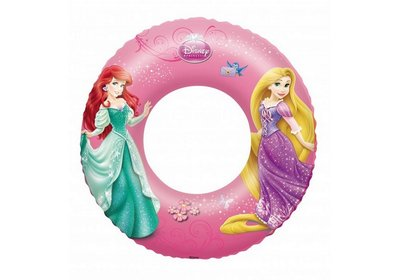 Bestway 91043, надувной круг Принцессы, 56см
