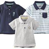 Стильные хлопковые футболки поло для мальчика Lupilu Германия