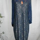 Красивое кружевное платье lindy bop 16р