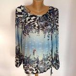 Необычная французская блуза etoile du monde р. 46