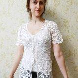 Продам вязаную блузу.