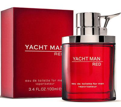 Оригинал мужские духи туалетная вода Яхт Мен Ред Yacht Man Red