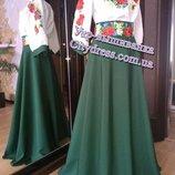 женское платье с вышивкой ,костюм с вышивкой пошив под заказ