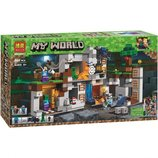 Конструктор Bela 10990 Minecraft Приключение в шахтах. майнкрафт