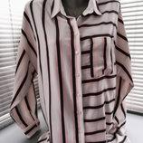 Удлиненная рубашка бойфренд