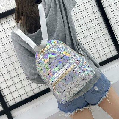 Прикольный рюкзак, голограммный цвет, новый