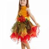 «Осеннего урожайная» карнавальный костюм для девочки карнавальный костюм Осени