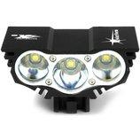 Велофара Solar Storm 3x вклофонарь фонарь велосипедная фара