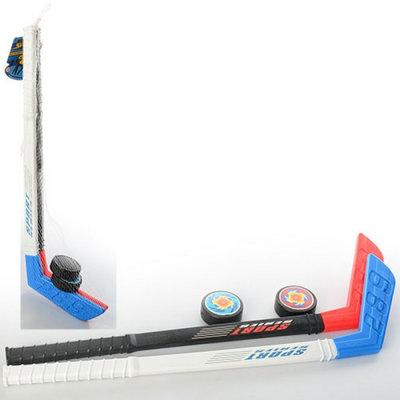 Детский хоккейный набор Ice Hockey 2910 2 клюшки 2 шайбы