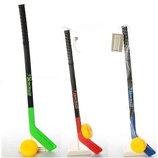 Детский хоккейный набор Ice Hockey 2912 клюшка шайба, 3 цвета