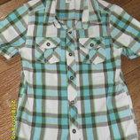 Рубашка F&F на 6-7 лет, рост 116-122