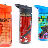 Бутылка для воды спортивная Football 6635 3 цвета, объем 500мл