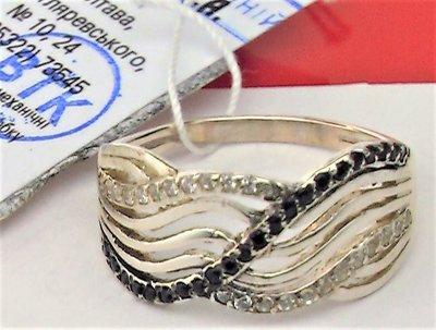 Продано: Кольцо перстень новое серебро 925 проба 2,20 грамма размер 17