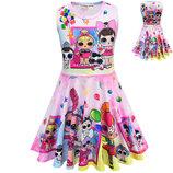 нарядное платье кукла лол lol