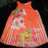 шикарное платье Baker 2-3 как новенькое большой выбор вещей 0-13 лет